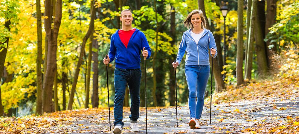 Nordic Walking Touren im Bayerischen Wald