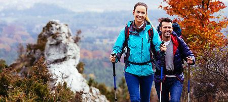 Nordic Walking im Bayerischen Wald